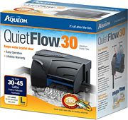 All Glass Aquarium Aqueon Power Filter 30-45 Gallons