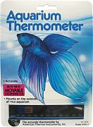 American Thermal Aquarium Thermometer Horizontal