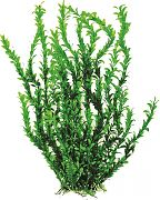 Aquatop Bushy Aquarium Plant With Weighted Base Green 26 Inch
