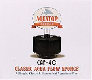 Aquatop Classic Aqua Flow Sponge Aquarium Filter Up To 40 Gal