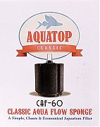 Aquatop Classic Aqua Flow Sponge Aquarium Filter Up To 60 Gal