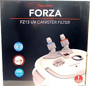 Aquatop Forza Multi-Stage Canister Filter With 13w Uv 550 Gph