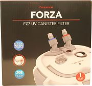 Aquatop Forza Multi-Stage Canister Filter With 7w Uv 295 Gph