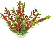 Aquatop Hygro-Like Aquarium Plant With Weighted Base Green/Red 12 Inch