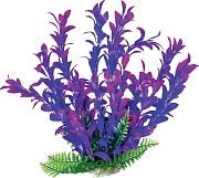 Aquatop Hygro-Like Aquarium Plant With Weighted Base Pink/Purple 9 Inch