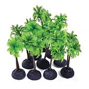Aquatop Profit Power Pack Palm Tree Green 4 Inch/10 Pack