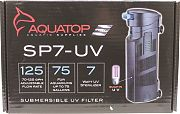 Aquatop Submersible UV Filter Black 70-125 Gph