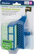Aqueon Aqueon Specialty Filter Pad W/Biogrid Phosphate Green 10