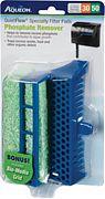 Aqueon Aqueon Specialty Filter Pad W/Biogrid Phosphate Green 30/50