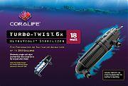 Aqueon Coralife Turbo-Twist 6x 18 Watt Ultraviolet Sterilizer