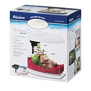 Aqueon Led Minibow Aquarium Kit Black 2.5 Gallon