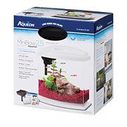 Aqueon Led Minibow Aquarium Kit White/Clear 2.5 Gallon