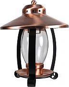 Aububon/Woodlink Coppertop Lantern Bird Feeder Copper&Black 1.25 Pound Cap