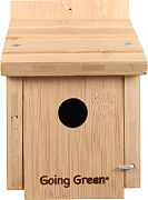 Aububon/Woodlink Deluxe Bamboo Wren House Natural
