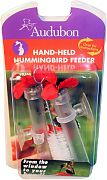 Aububon/Woodlink Feeder Hummingbird Hand Held Red/Clear 3 Oz