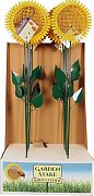 Aububon/Woodlink Sunflower Stake Feeder Floor Display Yellow & Green 12 Pc
