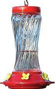 Aububon/Woodlink Swirl Glass Hummingbird Feeder
