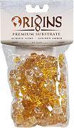 Bio Bubble Acrylic Gems Golden Amber 5 Ounce