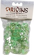 Bio Bubble Acrylic Gems Mossy Green 5 Ounce