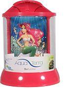 Bio Bubble Aqua Terra With 3d Mermaid Background Pink 1 Gallon