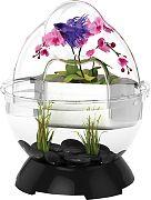 Bio Bubble Bubble Tunnel Desktop Aquarium Black 1.7 Gallon
