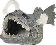 Bio Bubble Creepy Creatures Angler Fish Aquarium Ornament 10x4.75x4.75in
