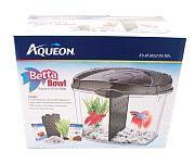 Black Aqueon Aqueon Betta Bowl Kit 5 Gallon