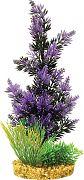 Blue Ribbon Colorburst Florals Brush Plant Cluster Black/Purple