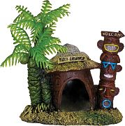 Blue Ribbon Exotic Environments Betta Hut With Palm Tree
