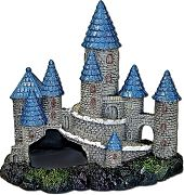 Blue Ribbon Exotic Environments Blue Spire Castle Blue/Gray