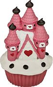 Blue Ribbon Exotic Environments Cupcake Castle Pink Small