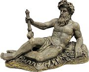 Blue Ribbon Exotic Environments Neptune Statue Large