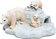 Blue Ribbon Exotic Environments Polar Bear Island White Small