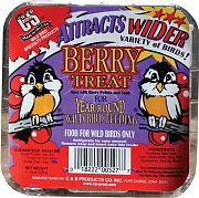 C & S Products Berry Suet Treat