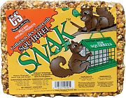 C & S Products Squirrel Snak Cake