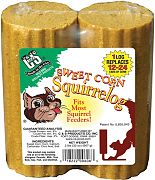 C & S Products Sweet Corn Squirrelog Refill