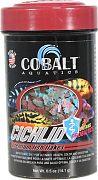 Cobalt Premium Cichlid Flakes .5 Ounce