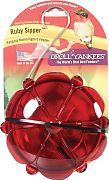 Droll Yankees Ruby Sipper Window Hummingbird Feeder Red&Clear 5 Ounce Cap