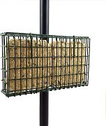 Droll Yankees Suet Feeder Pole Clamp Double