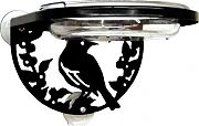 Droll Yankees Window-Mount Songbird Feeder