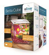 Elive Betta Cube White .75 Gallon