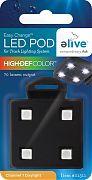 Elive Easy Change Led Light Pod For Track Lighting Systm Hi-Def Color 1 Watt