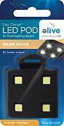 Elive Easy Chnage Led Light Pod For Track Lighting Systm Warm White 1 Watt
