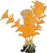 Elive Glow Elements Cabomba Plant Ornament Neon Tangerine 4 Inch