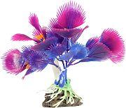 Elive Glow Elements Pecten Plant Ornament Neon Purple 4 Inch