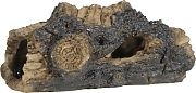 Elive Rough Hollow Log Ornament Brown 5.5 Inch