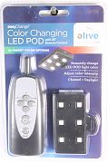 Elive Ten Colored Led Light Pod With Remote