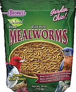 F.M. Browns Natural Wild Bird Food Dried Mealworms