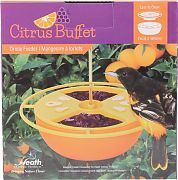 Heath Citrus Buffet Oriole Feeder Orange 6 Ounce