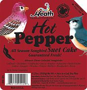 Heath Hot Pepper Suet Cake